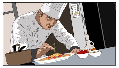 Chef Finishing